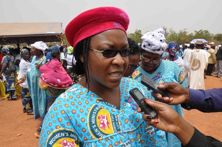 Mrs sessou interviewed by media big thumb