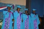 The four graduates from l to r gweth gombe asta essama thumb